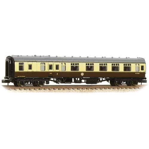 374-082A Farish BR Mk1 BCK Brake Composite Corridor BR(WR) Chocolate & Cream